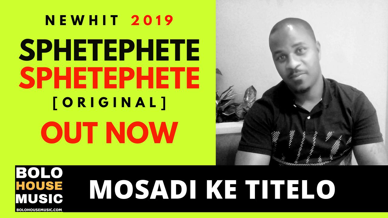 Sphetephete - Mosadi Ke Titelo