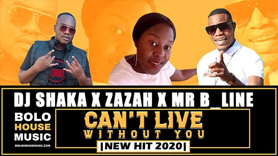DJ Shaka x Zazah x Mr B_Line - Can't Leave Without You