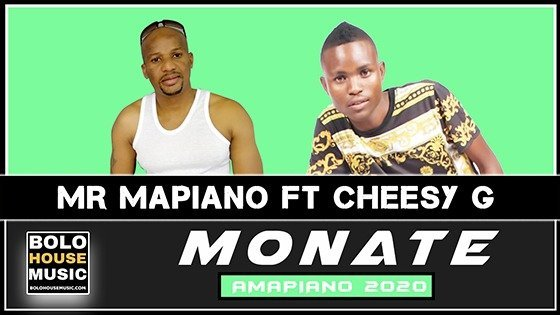 Mr Mapiano - Monate feat Cheesy G
