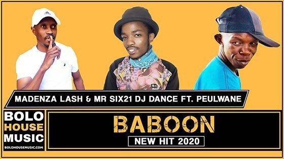 Madenza Lash & Mr Six21 DJ Dance - Baboon ft. Peulwane
