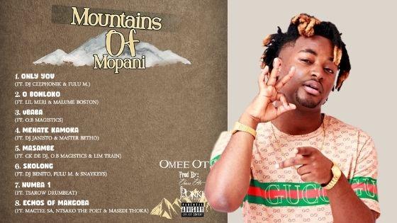 Omee Otis - Mountains Of Mopani Album 2020