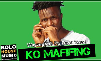 Wayzee405 - Ko Mafifing Feat. Dave West