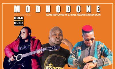 Modhodone - Rams Motlatso ft Dj Call Me & Mkoma Saan